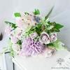 Bouquet Artificiel Déco Florale pour Mariage | Bouquet Artificiel | Fleur Artificiel Mariage Violet | Bouqueternel.jpg