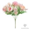 Bouquet de Fleurs Artificielles Décoration Salle de Mariage Rose l Bouquet Artificiel | Fleur Artificielle Mariage | Bouqueternel