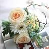 Bouquet Artificiel Composition Florale de Noël Blanc Cassé | Bouquet Artificiel l Bouqueternel
