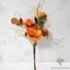 Fleurs Artificielles d'Extérieur Cimetière Orange | Bouquet Artificiel | Bouqueternel
