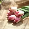 Tulipes Artificielles Haut de Gamme Rose | Fleurs Artificielles | Tulipes Artificielles | Bouqueternel