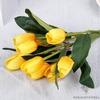 Bouquet de Tulipes Artificielles Jaune | Fleurs Artificielles | Tulipes Artificielles | Bouqueternel