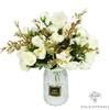 Centre de Table de Mariage Fleurs Artificielles Blanches | Fleurs Artificielles | Roses Artificielles | Bouqueternel