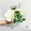 Décoration Table d'Honneur Mariage Champêtre Blanche | Fleurs Artificielles | Pivoines Artificielles | Bouqueternel