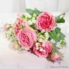 Décoration Centre de Table Mariage Pas Cher Rose | Fleurs Artificielles | Renoncules Artificielles | Bouqueternel