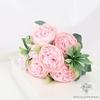 Centre de Table Fleur pour Mariage Champêtre Rose Pâle | Fleurs Artificielles | Renoncules Artificielles | Bouqueternel