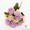 Décoration Table Ronde pour Mariage Violette | Fleurs Artificielles | Hortensias Artificiels | Bouqueternel