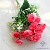 Composition Florale Centre de Table Pas Cher Roses | Fleurs Artificielles | Renoncules Artificielles | Bouqueternel