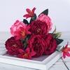 Bouquet Artificiel Pivoine Rouge Bouqueternel