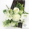 Composition Florale Centre de Table pour Mariage Blancs | Fleurs Artificielles | Hortensias Artificiels | Bouqueternel