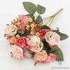 Centre de Table Mariage Chic Pas Cher Rose Pâle | Fleurs Artificielles | Roses Artificielles | Bouqueternel