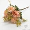 Centre de Table Mariage Nature Chic Roses | Fleurs Artificielles | Roses Artificielles | Bouqueternel