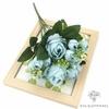 Fleur Artificielle Déco Table Bleues | Fleurs Artificielles Mariage | Bouqueternel