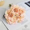 Déco Table Ronde pour Mariage Rose | Fleurs Artificielles | Renoncules Artificielles | Bouqueternel