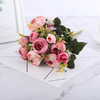 Bouquet Artificiel Fleurs Artificielles pour Cimetière Rose et Rose Pale Bouqueternel