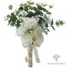 Bouquet de Mariée de Pivoine et d'Eucalyptus | Fleurs Artificielles | Pivoine Artificielle | Bouqueternel