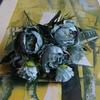 Pivoine Artificielle Fleurs Artificielles Extérieur Bleu Bouqueternel