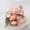 Composition Florale pour Mariage Rose | Bouquet Artificiel | Bouqueternel