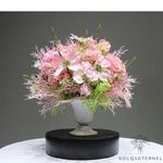 Bouquet Artificiel Composition Florale Artificielle Haut de Gamme avec vase | Bouquet Artificiel | Bouqueternel