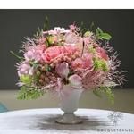 Bouquet Artificiel Composition Florale Artificielle Haut de Gamme vase inclus | Bouquet Artificiel | Bouqueternel