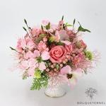 Composition Florale Artificielle Haut de Gamme avec vase | Bouquet Artificiel | Bouqueternel