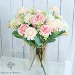 Bouquet de Fleurs Artificielles Décoration Florale pour Mariage | Bouquet Artificiel | Fleurs Artificielles Mariage | Bouqueternel