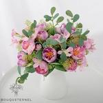 Bouquet de Fleurs Artificielles Déco de Portulaca | Bouquet Artificiel | Bouqueternel