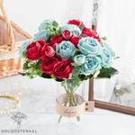 Décoration de Table pour cérémonie de Mariage Bouquet de Fleurs Artificielles | Bouquet Artificiel | Fleur Mariage Artificielle | Bouqueternel.jpg