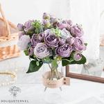Fleurs Artificielles en Bouquet Décoration de Table pour Mariage | Bouquet Artificiel | Fleur Mariage Artificielle | Bouqueternel