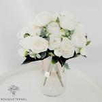 Art Floral Bouquet Artificiel Pivoine Tenuifolia | Bouquet Artificiel | Pivoine Artificielle | Bouqueternel