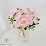 Art Floral Pivoine Tenuifolia | Bouquet Artificiel | Pivoine Artificielle | Bouqueternel