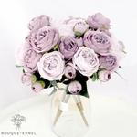 Bouquet Artificiel Art Floral Pivoine Tenuifolia | Bouquet Artificiel | Pivoine Artificielle | Bouqueternel