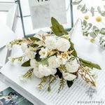Art Floral Mariage Bouquet de Fleurs Artificielles | Bouquet Artificiel | Fleur Artificielle Mariage | Bouqueternel