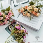 Bouquets Artificiels Art Floral Mariage | Bouquet Artificiel | Fleur Artificielle Mariage | Bouqueternel