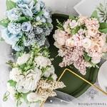 Bouquet Artificiel Composition de Fleurs Artificielles pour Mariage | Bouquet Artificiel | Fleur Artificielle Mariage | Bouqueternel