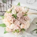 Bouquet Artificiel Composition de Fleurs pour Mariage | Bouquet Artificiel | Fleur Artificielle Mariage | Bouqueternel