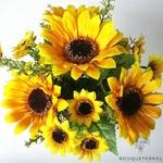 Bouquet Artificiel de Tournesols | Bouquet Artificiel | Bouqueternel