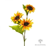 Tournesols Artificiels en Branche | Branche Artificielle | Bouqueternel
