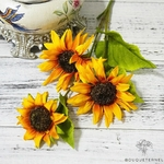 Tournesols Artificiels | Branche Artificielle | Bouqueternel