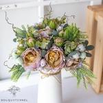 Bouquet Artificiel Composition Fleurs Artificielles pour Deuil | Bouquet Artificiel | Bouqueternel