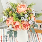 Bouquet de Fleurs Artificielles Composition pour Deuil | Bouquet Artificiel | Bouqueternel