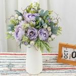 Composition Fleurs Artificielles pour Deuil | Bouquet Artificiel | Bouqueternel