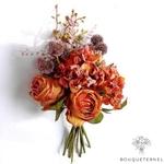 Bouquet de Fleurs Artificielle Composition Florale pour Deuil | Bouquet Artificiel | Bouqueternel