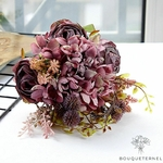 Composition Florale Artificielle pour Deuil | Bouquet Artificiel | Bouqueternel