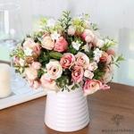 Bouquet Artificiel Déco Fleurs pour Mariage | Bouquet Artificiel | Fleur Artificielle Mariage | Bouqueternel