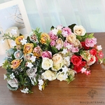 Bouquets de Fleurs Artificielles Déco Fleurs pour Mariage | Bouquet Artificiel | Fleur Artificielle Mariage | Bouqueternel