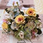 Bouquet de Fleurs Artificielles Déco Fleurs pour Mariage | Bouquet Artificiel | Fleur Artificielle Mariage | Bouqueternel