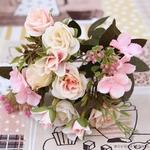 Bouquet Artificiel Déco Fleurs Artificielles pour Mariage | Bouquet Artificiel | Fleur Artificielle Mariage | Bouqueternel