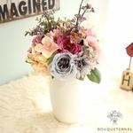 Bouquet de Fleurs Artificielles Composition Florale de Noël | Bouquet Artificiel l Bouqueternel