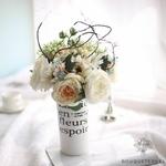Bouquets Artificiels Composition Florale de Noël | Bouquet Artificiel l Bouqueternel